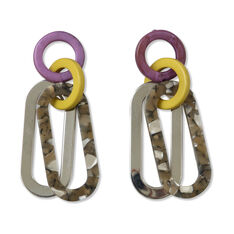 Rachel Comey Sour Earrings in color Purple/ Yellow