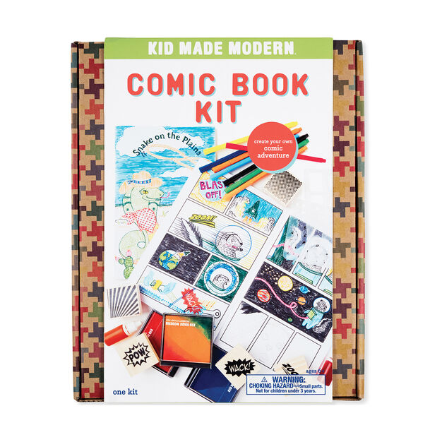 Kid Made Modern Comic Book Kit in color