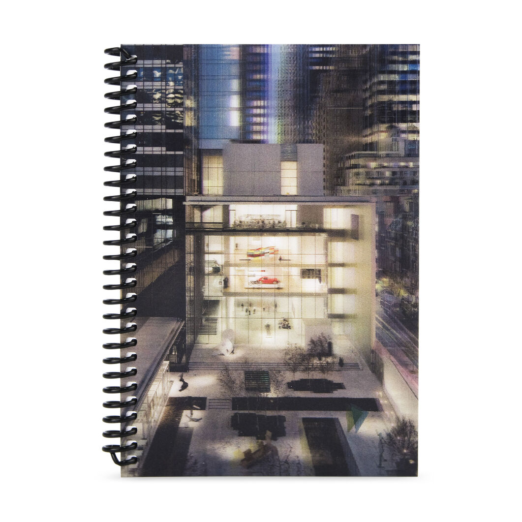 MoMA Lenticular Notebook in color