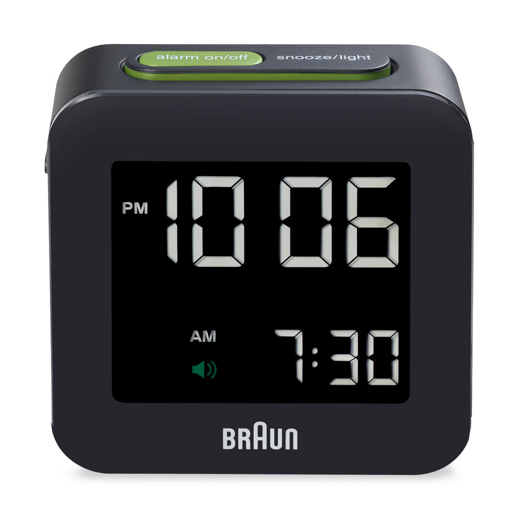 Digital Square Alarm Clock Moma Design Store