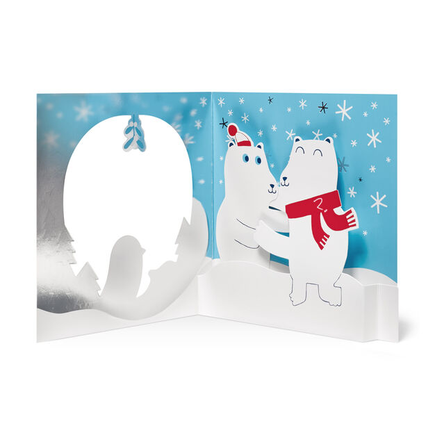 Holiday Hugs Holiday Card (Box of 8) in color
