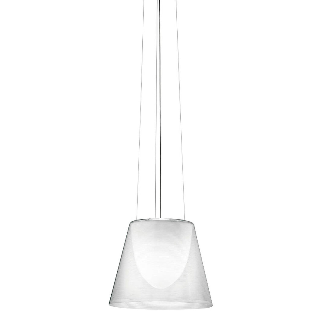 Ktribe S2 Halogen Pendant Light in color Transparent