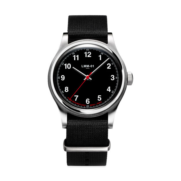 Merci LMM-01 Quartz Watches in color Black