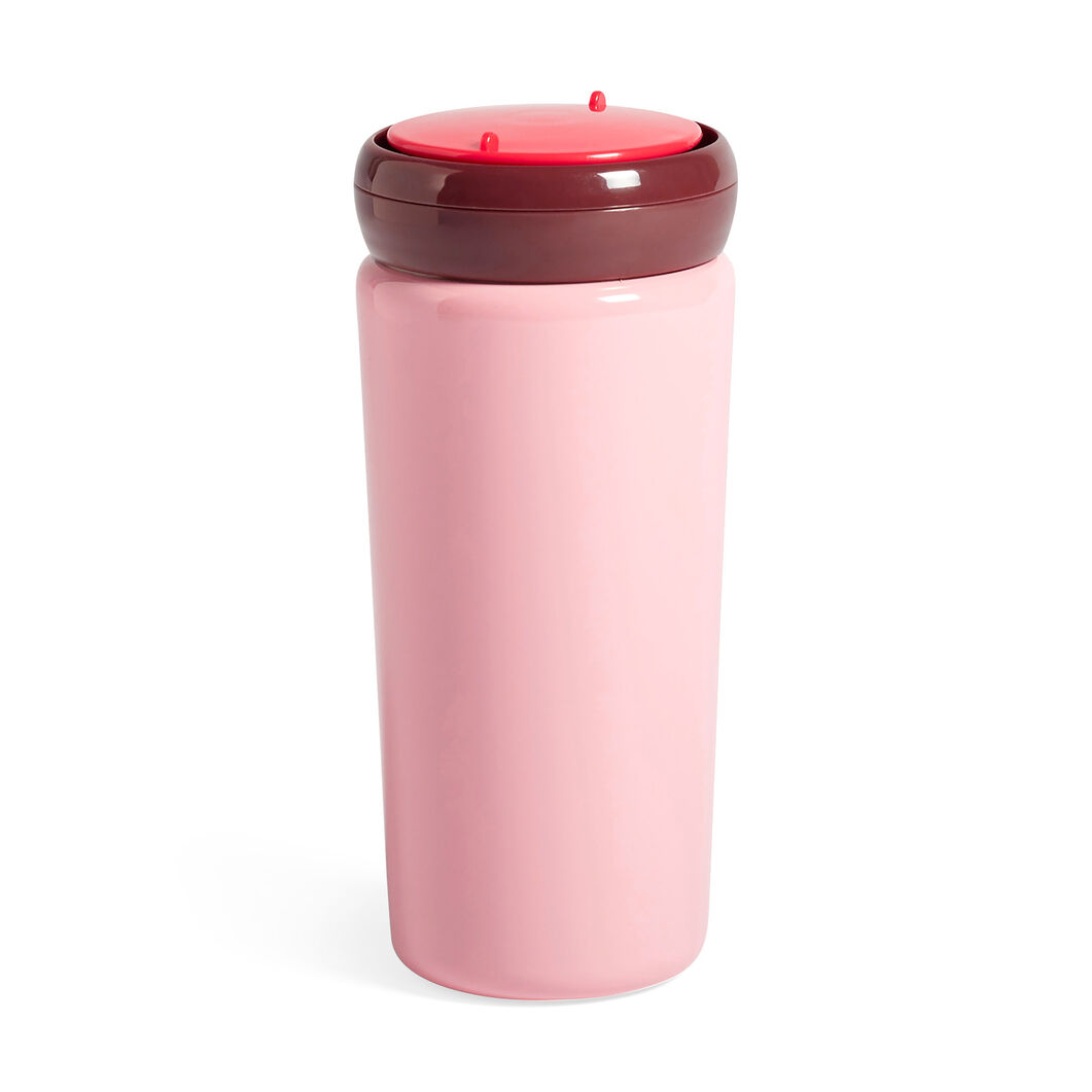 HAY George Sowden Travel Mug in color Pink