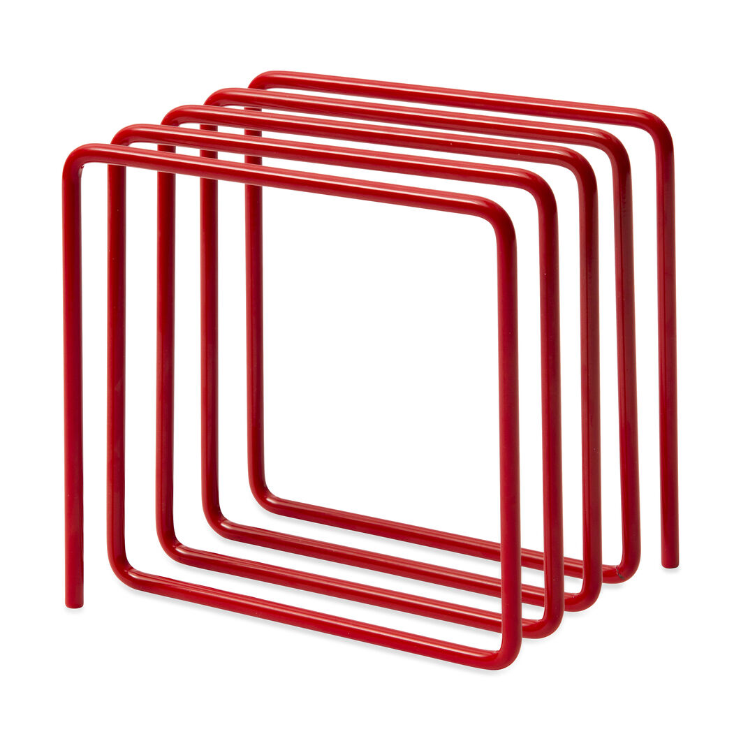 Wire Magazine Desktop Rack