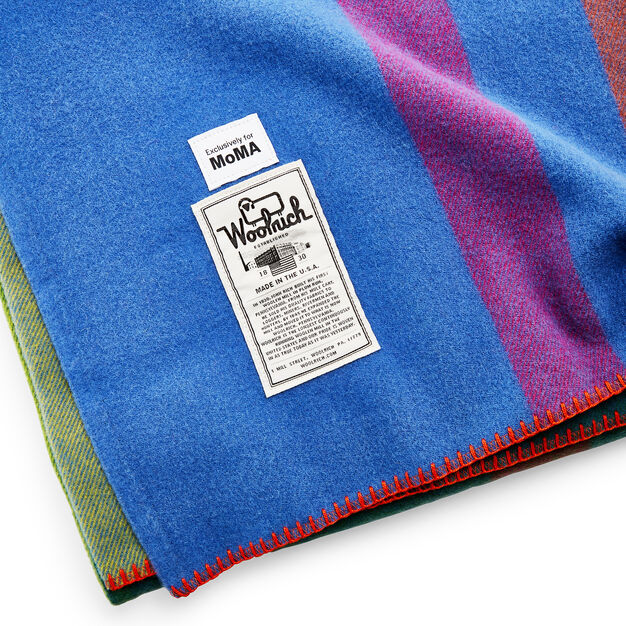 Woolrich Exploded Plaid Throw in color