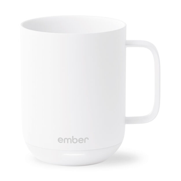 Ember Ceramic Mug in color White
