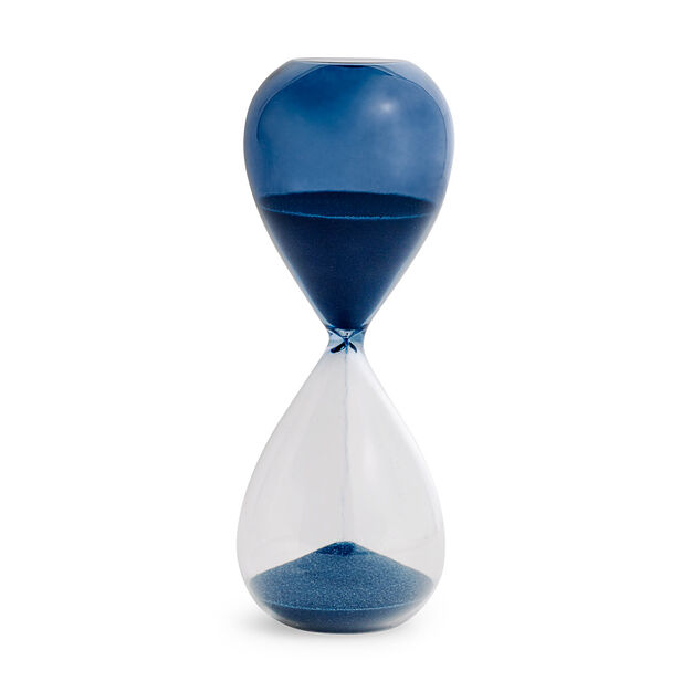 HAY Time Hourglass in color Blue