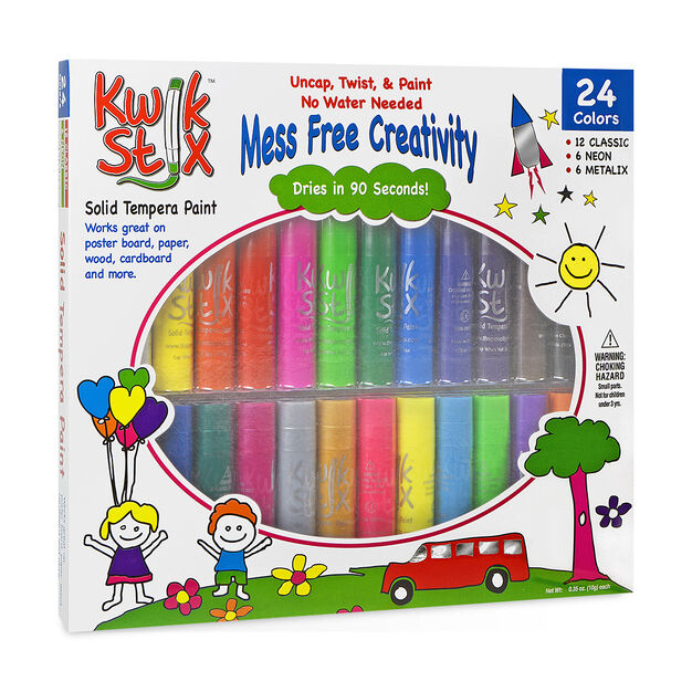 Paint Kwik Stix - 24 Pack in color Multi