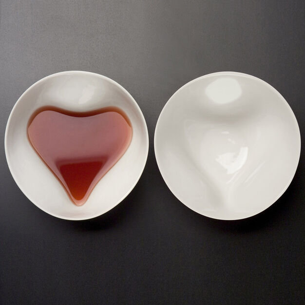 Heart Bowl in color