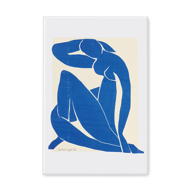 Henri Matisse: Blue Nude II Magnet in color