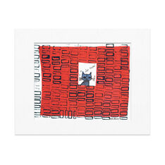 Warhol: So Meow Matted Print in color