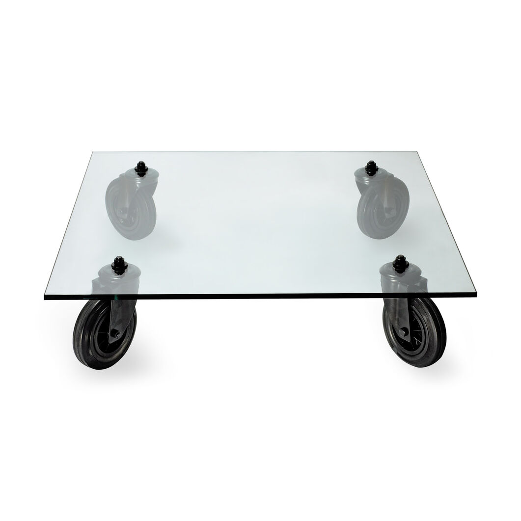 Table with wheels in color