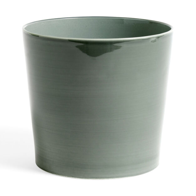 HAY Botanical Plant Pot in color Dusty Green