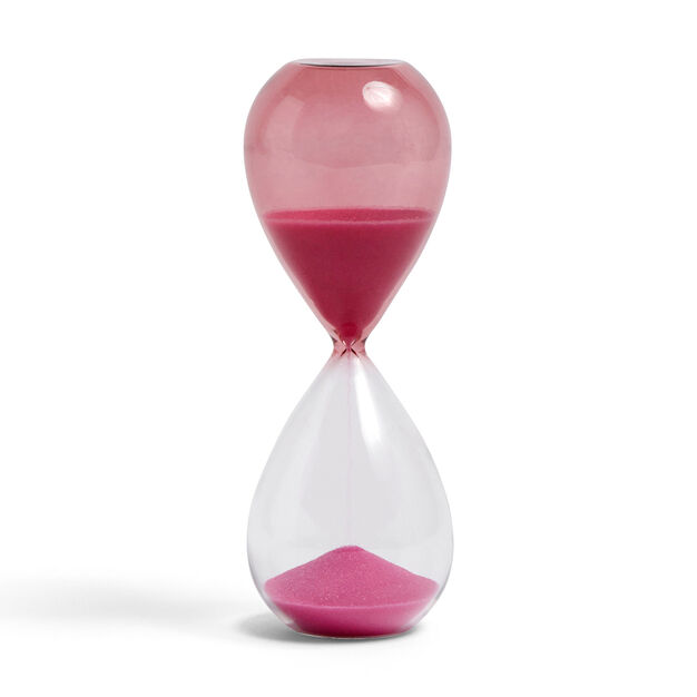 HAY Time Hourglass in color Pink