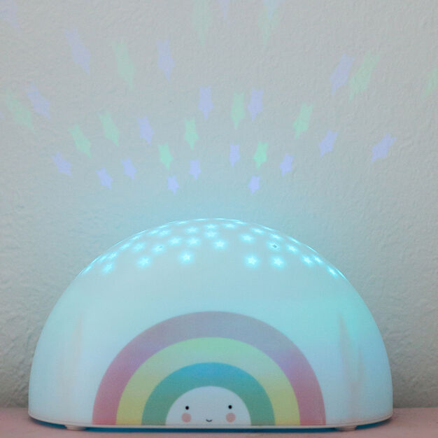 Rainbow Projector Light in color