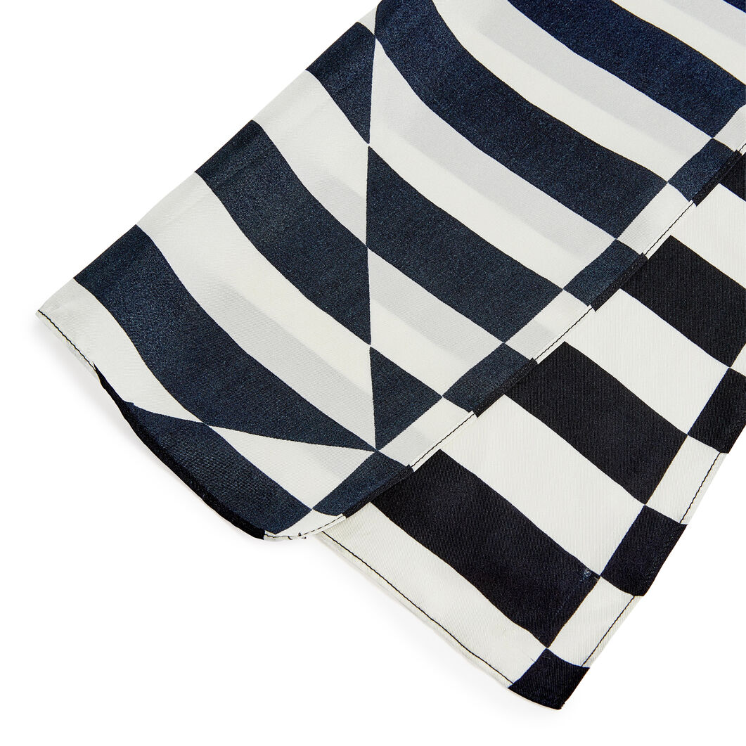 Carmen Herrera Silk Scarf in color
