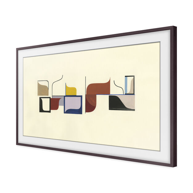 Bezel Customizable for Samsung The Frame TV in color Brown