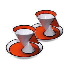 Jazz Espresso Cups - Set of 2 in color