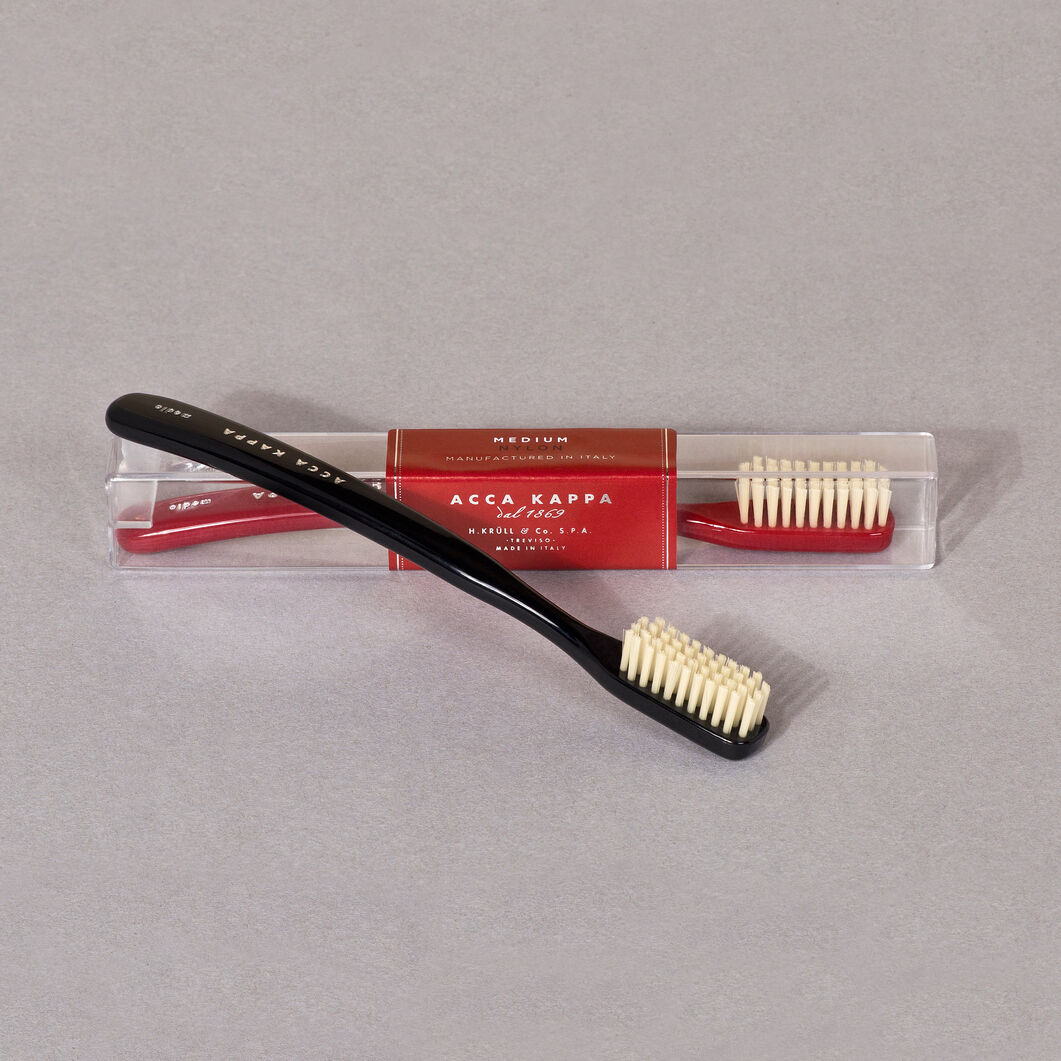 Acca Kappa Toothbrush in color Red