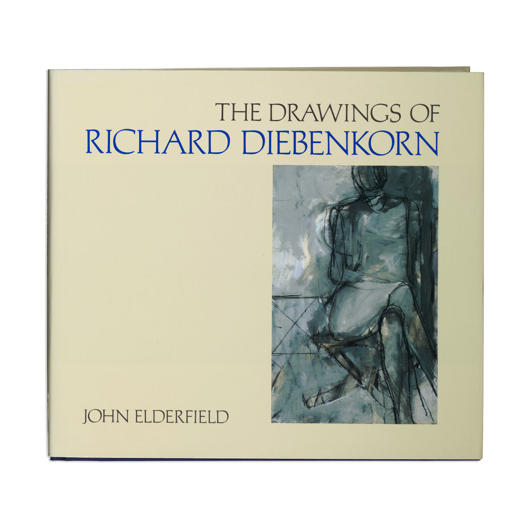 The Drawings of Richard Diebenkorn - Paperback in color