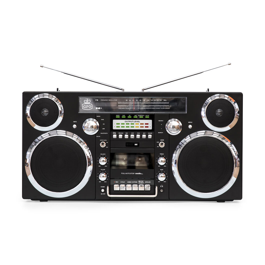 Brooklyn Boombox in color Black