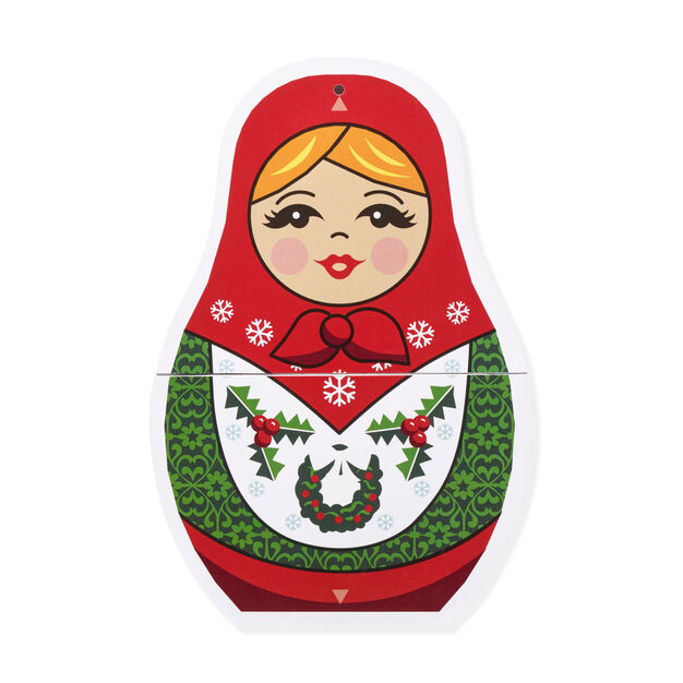 Merry Matryoshka Holiday Cards - Set of 8 in color