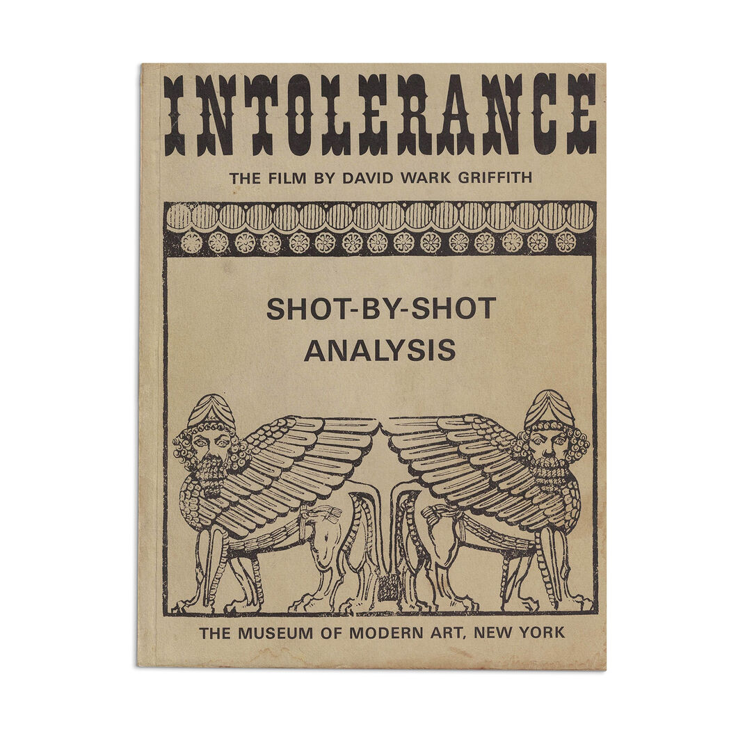 Intolerance, The Film by David Wark Griffith. Shot-by-Shot Analysis - Paperback in color