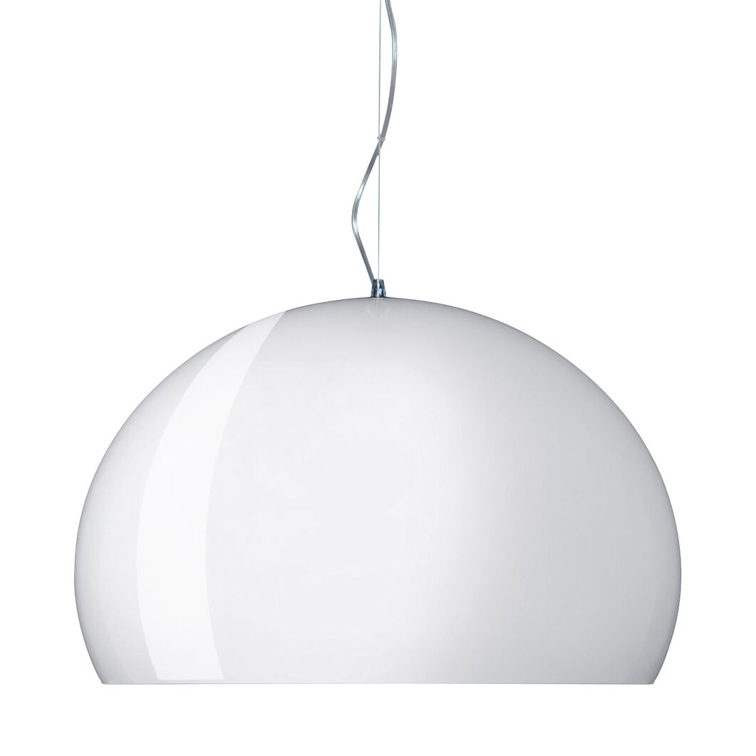 FL/Y Pendant Light by Kartell in color Crystal