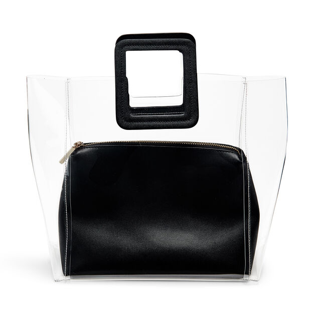 Staud Shirley Tote Bag in color Black