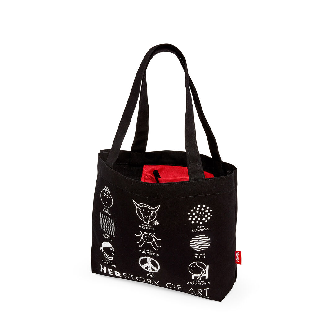 Herstory of Art Tote in color