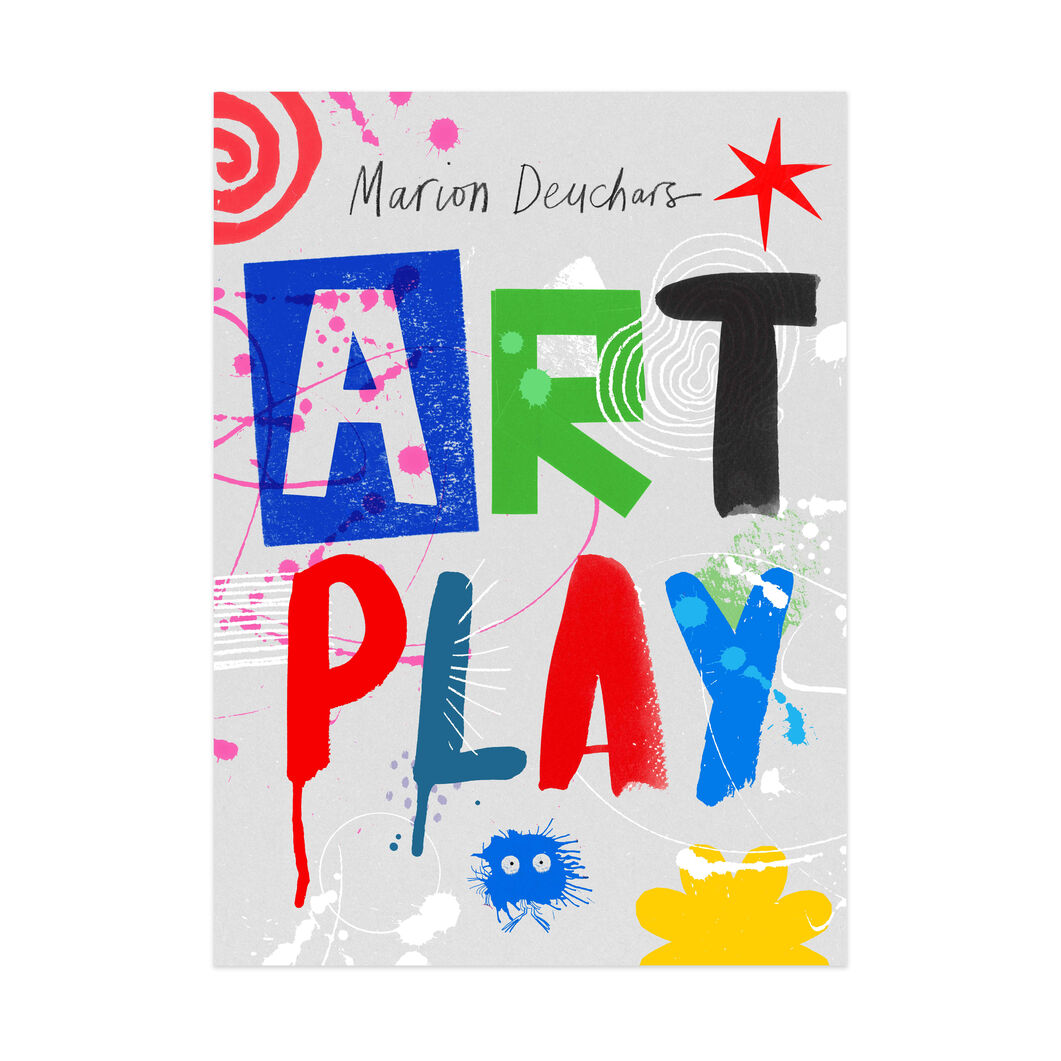 Art Play Activity Book -Paperback in color