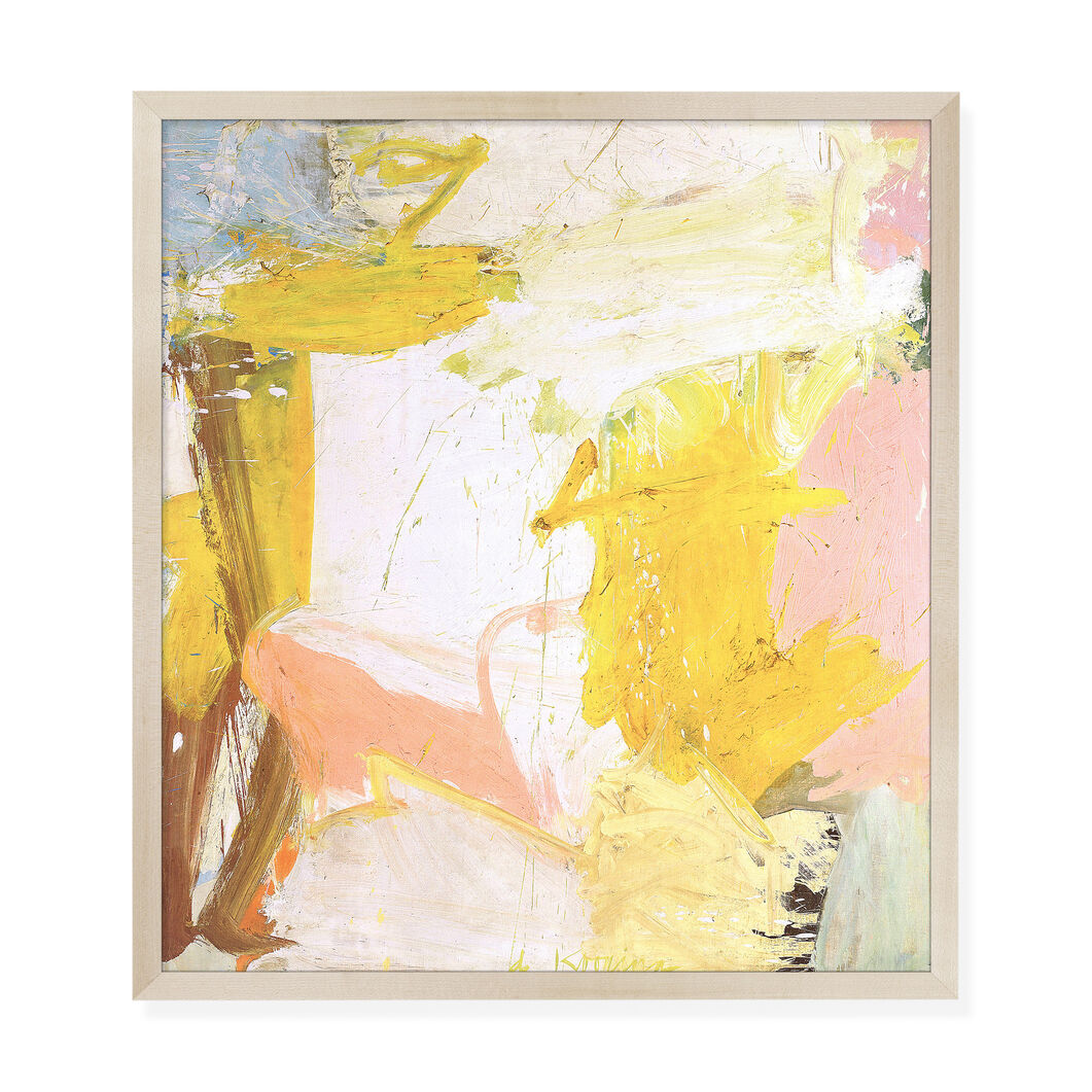 De Kooning: Rosy-Fingered Dawn at Louse Point Framed Print in color