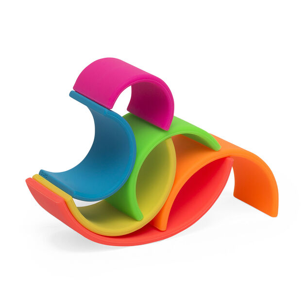Rainbow Stacking Toy in color