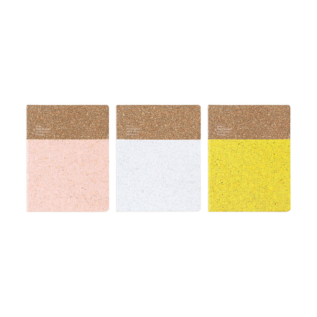 Large Cork Notebook in color