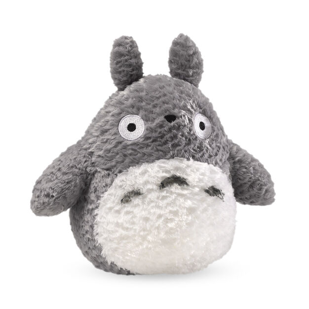 Fluffy Totoro in color Grey