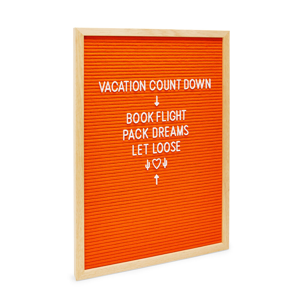 Medium Letter Board in color