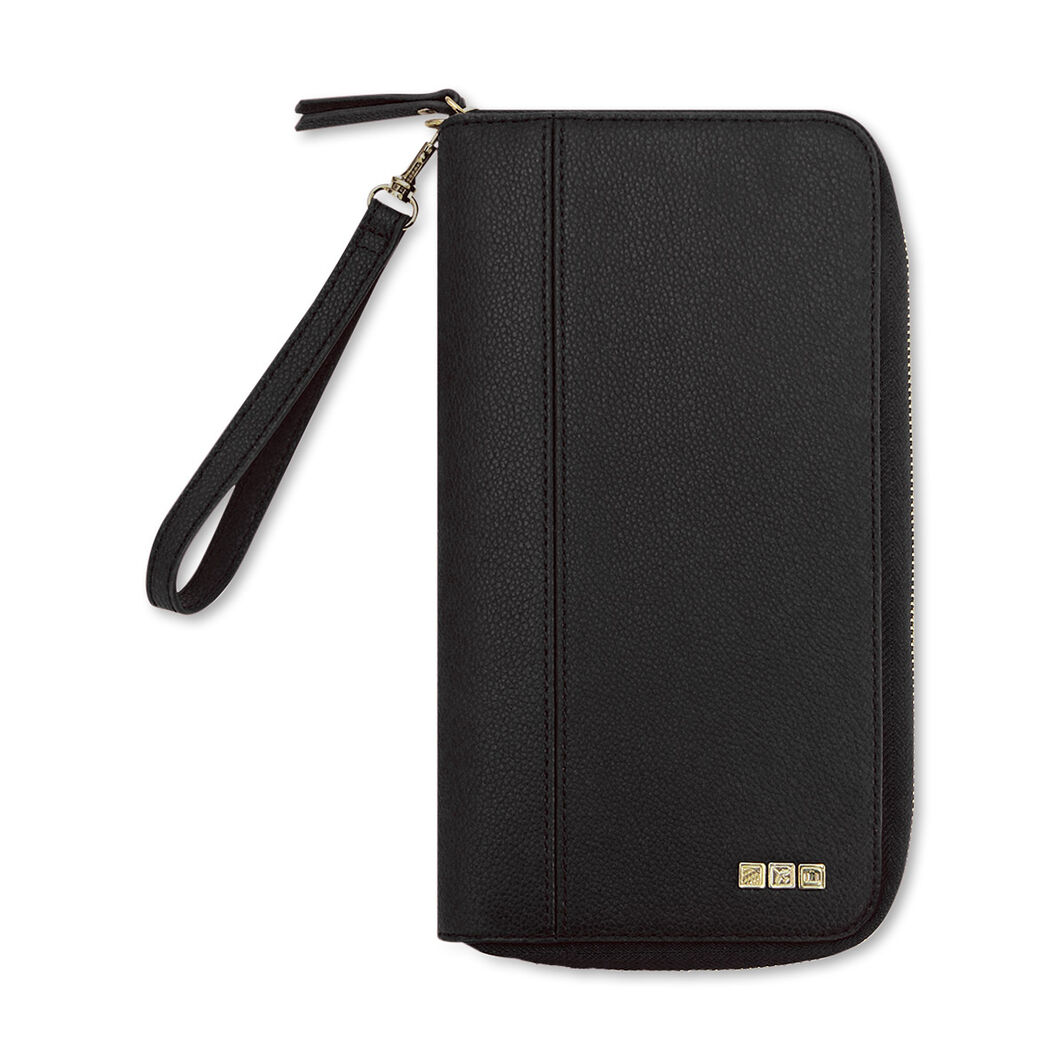 Family Travel Wallet - Black in color Black