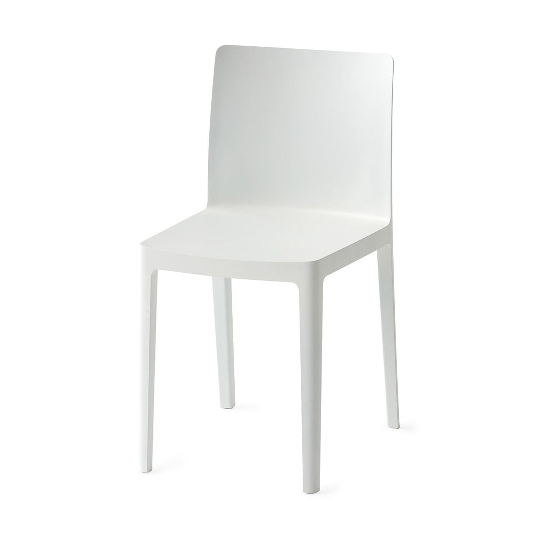 HAY Élémentaire Chairs in color Cream White