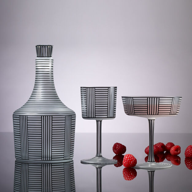 Series B Crystal Service- Wine Decanter in color