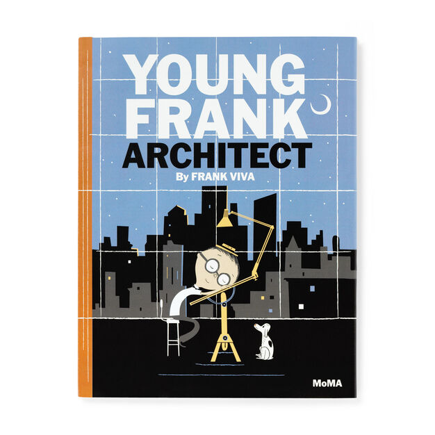 Young Frank  Architect in color