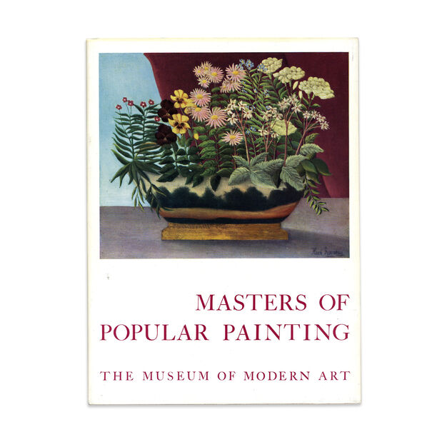 Masters of Popular Painting (1st Edition) - Hardcover in color
