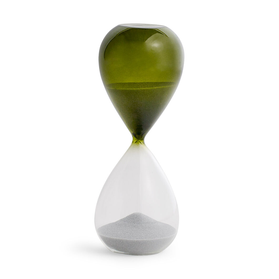 HAY Time Hourglass in color Green