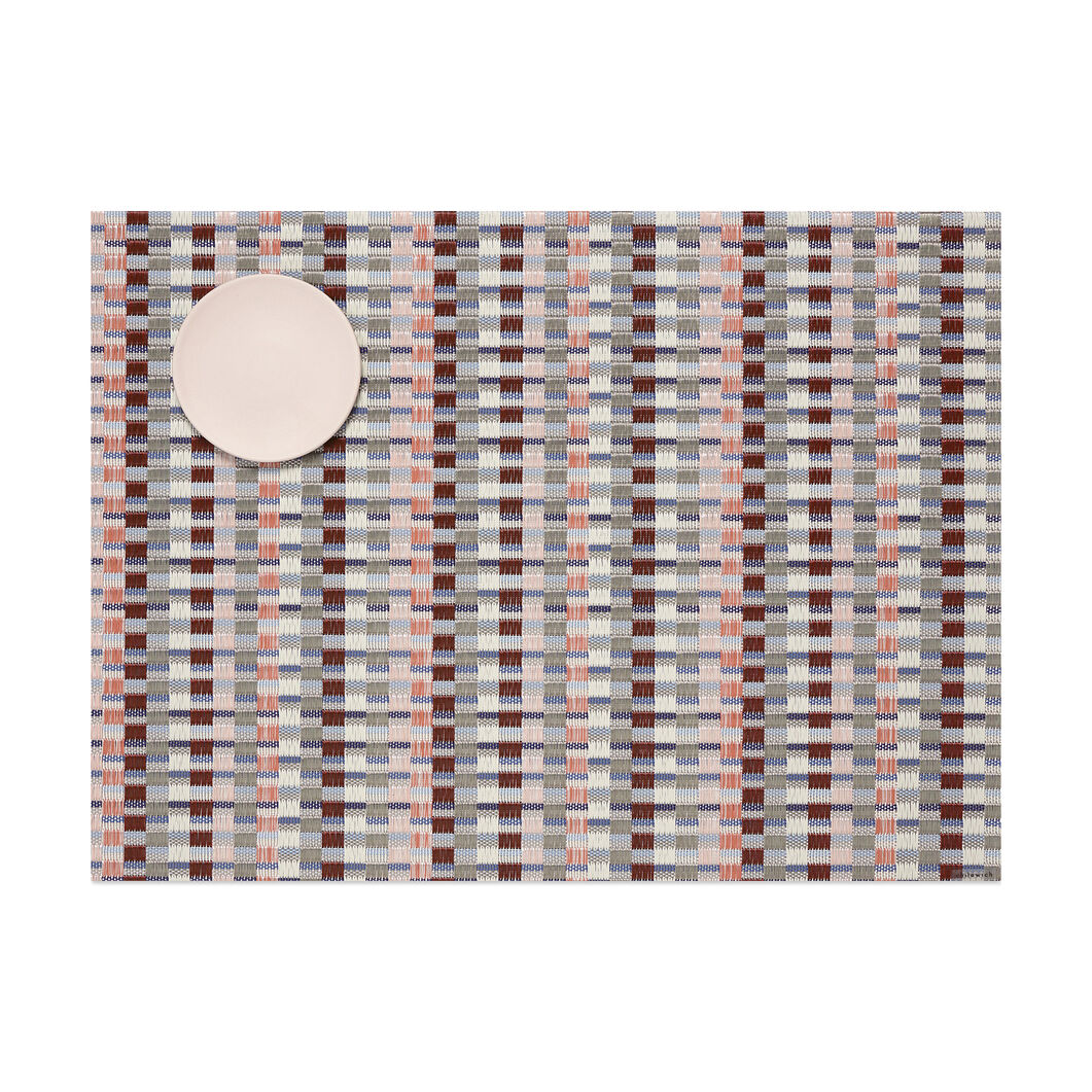 Chilewich Heddle Placemat in color Brown