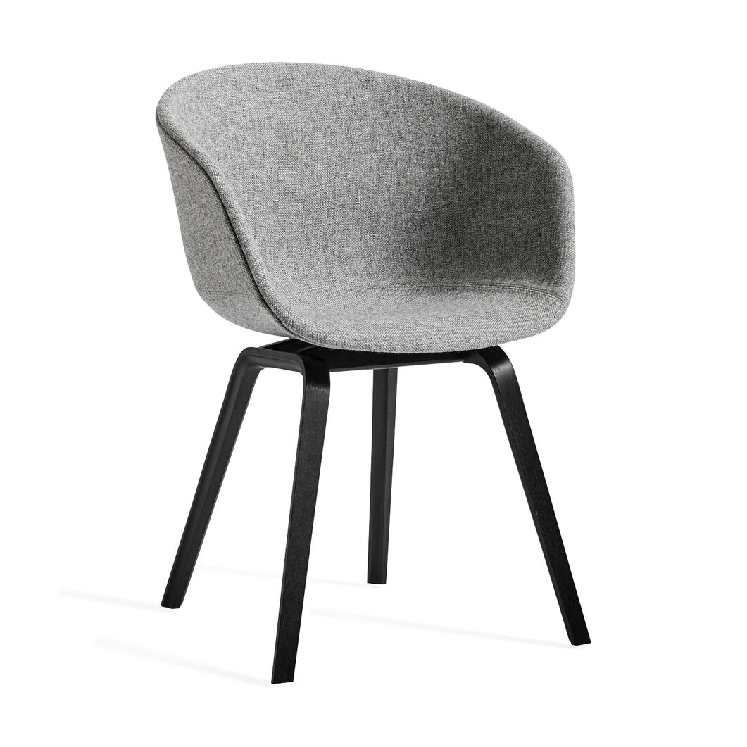 HAY About a Chair Gray Upholstered in color