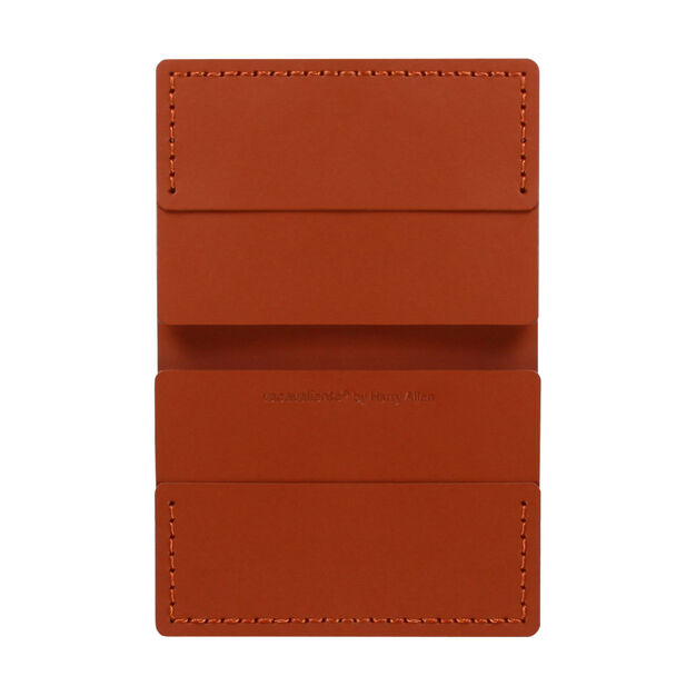 Double Mini Wallet in color Brown