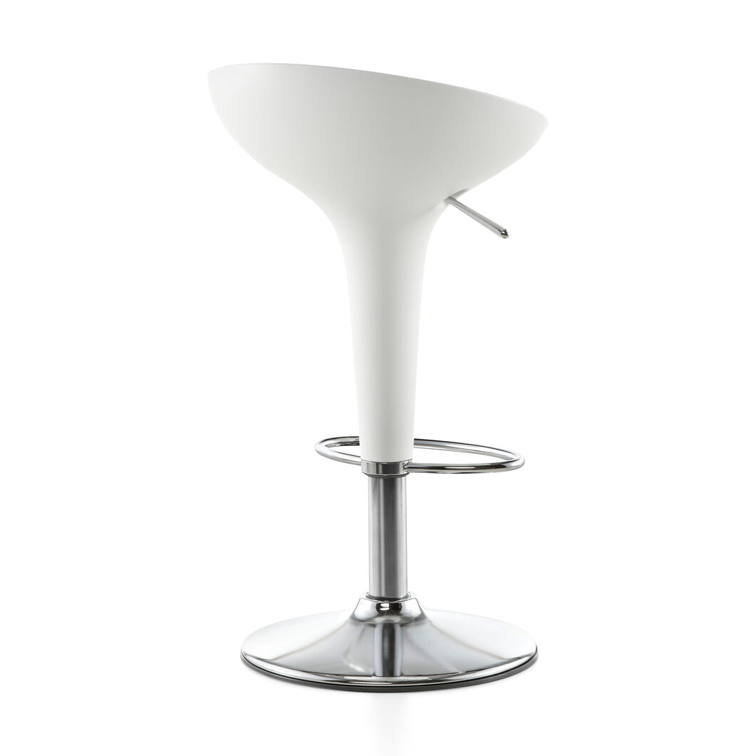 Magis Bombo Swivel Stool in color White