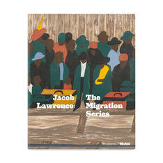 Jacob Lawrence: The Migration Series- Hardcover in color