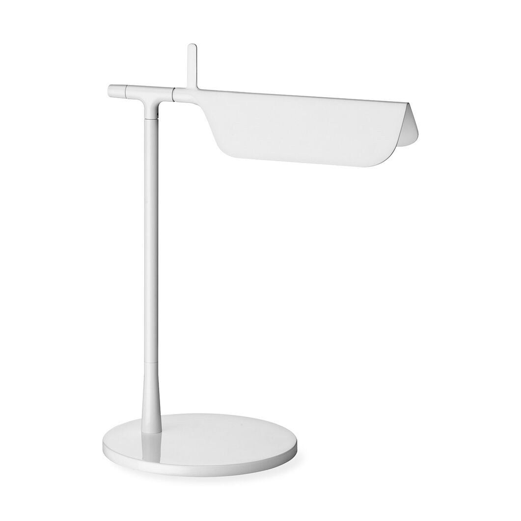 Tab LED Table Lamp in color White