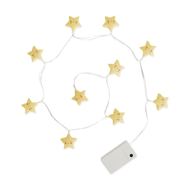 Yellow Star String Lights in color